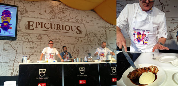 Epicurious Tent, South Bank Regional Flavours 2013