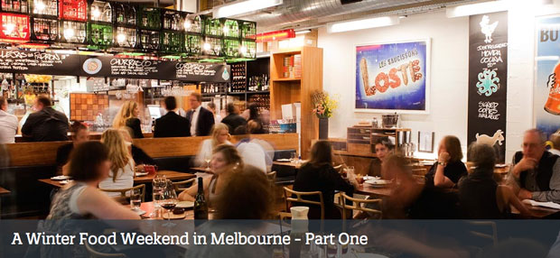 A Winter Food Weekend in Melbourne by Mimi Hyll