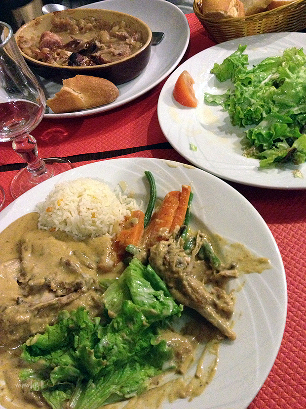 Aux Anysetiers du Roy Rabbit with Mustard Sauce