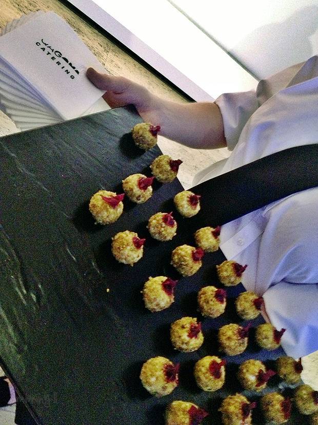 QAGOMA Catering - Goats Cheese