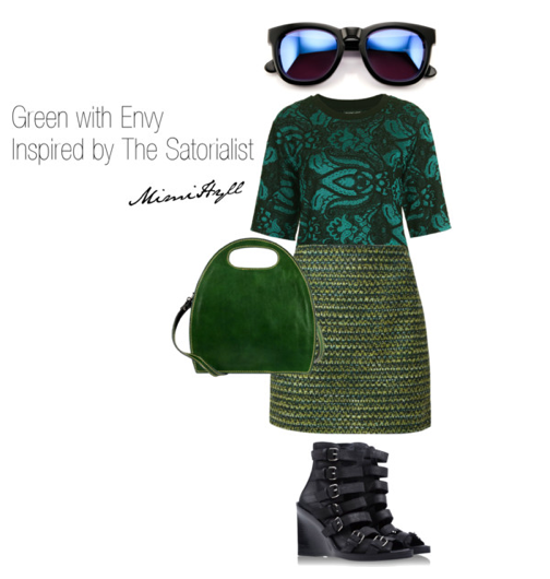 Mimi's take on the Emerald trend