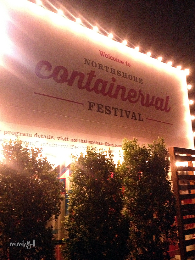 Containerval Entrance