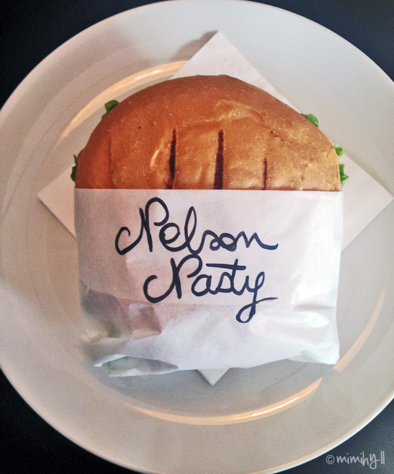 The Nelson Nasty signed, sealed and delivered atDA'Burger
