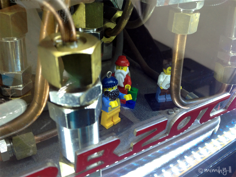 LTD Espresso Lego Coffee Machine Men