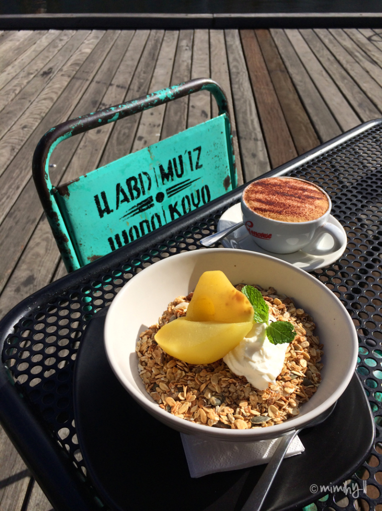 The Boat Builders Yard, Byron Bay Muesli and Genovese Coffee