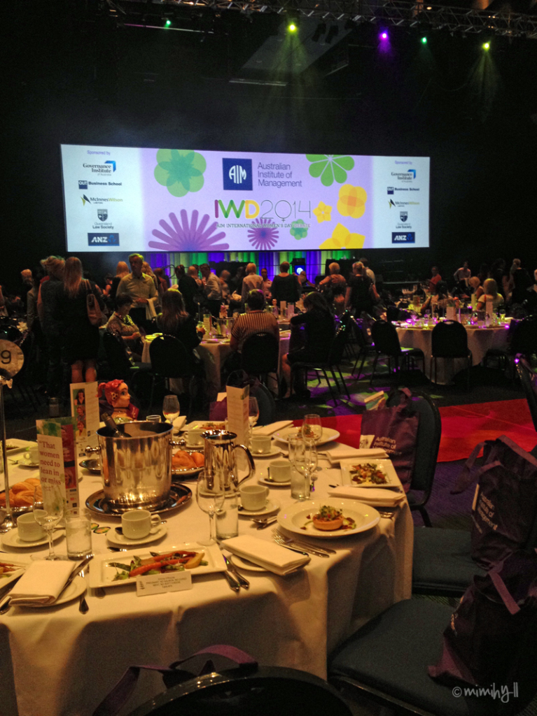 Australian Institute of Management International Women's Day Debate Luncheon