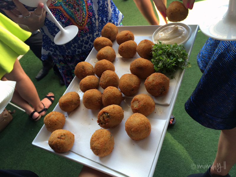 Limes Hotel Rooftop Bar and Cinema Relaunch - Arancini