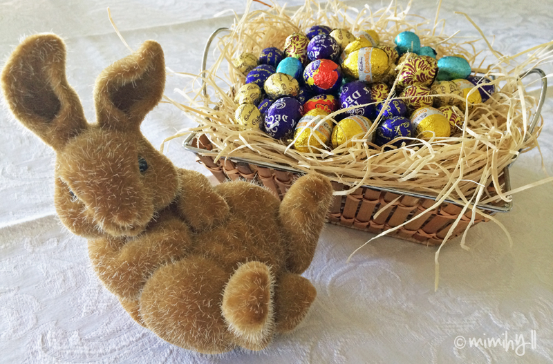 Easter Eggs and Table setting
