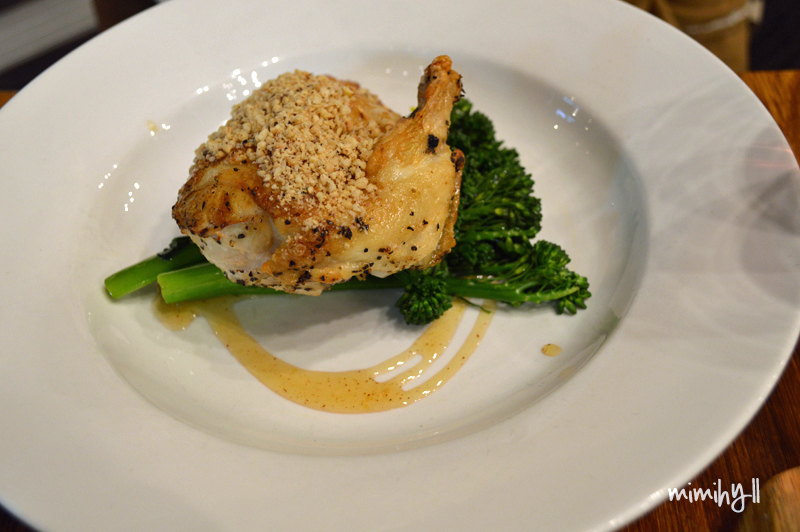 The Brompton Hotel Hazelnut Chicken