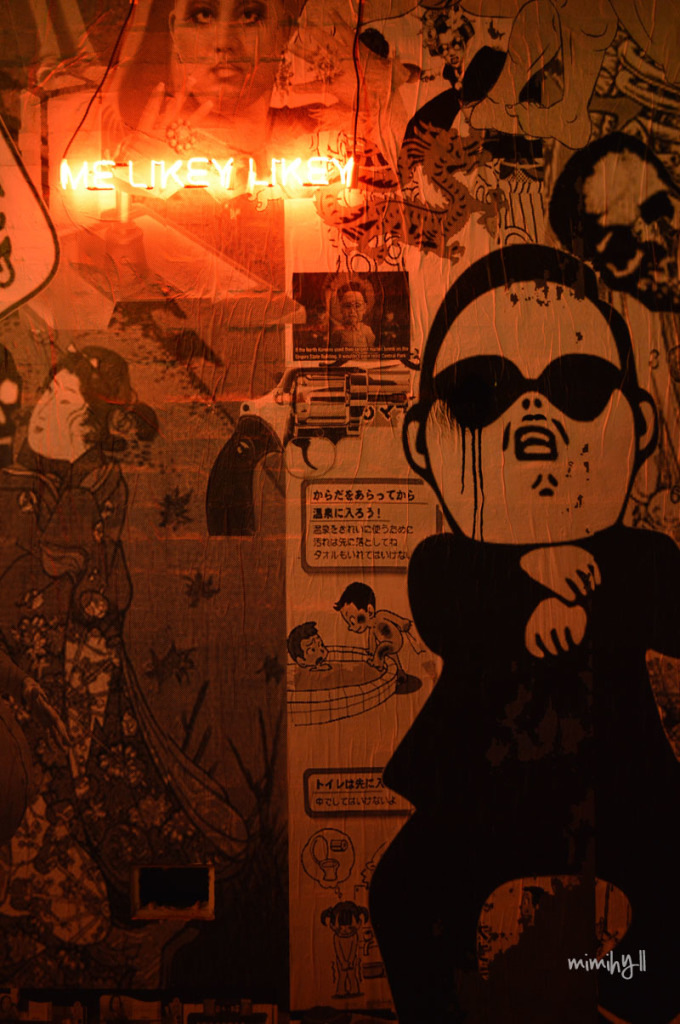 Kwan Brothers, Fortitude Valley, Feature Wall