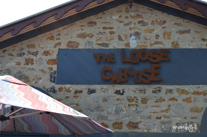 The Loose Caboose signage