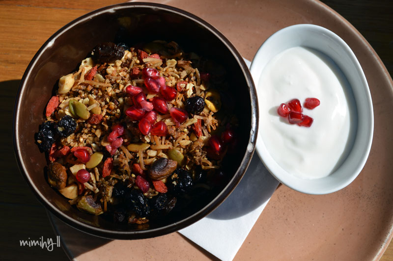 The Depo West End Toasted Quinoa Granola