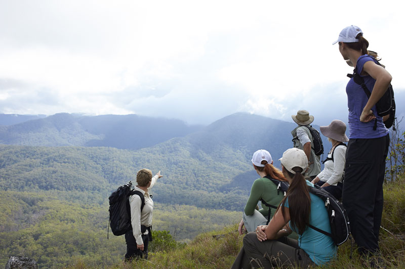 Scenic Rim Trail Launch, Views on the trail
