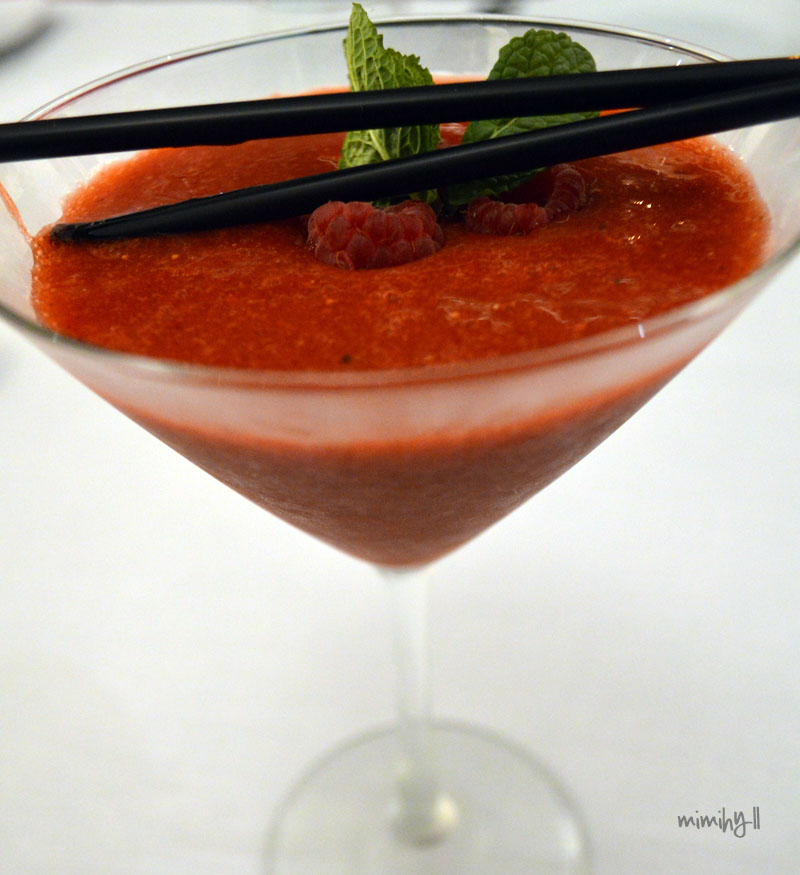 The Lab Bar and Restaurant Strawberry Mocktail