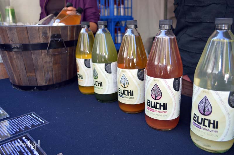 Buchi Kombucha, Regional Flavours, South Bank
