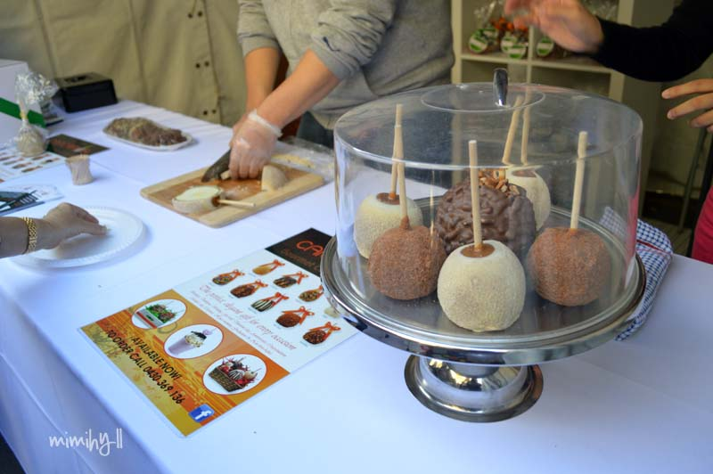 Carcamo's Caramel Apples, Regional Flavours, South Bank