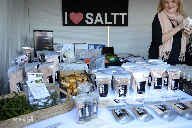Saltt Trading Stall at Regional Flavours, South Bank