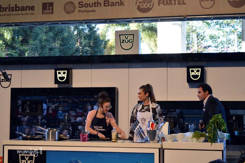 Alice Zaslavsky vs Sarah Todd at EAT SHOW TELL, Regional Flavours, South Bank