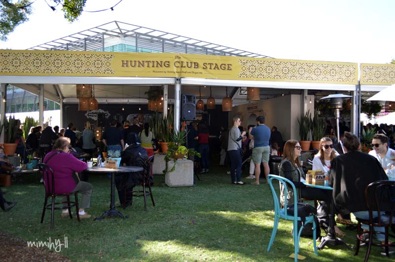 The Hunting Club Tent at Regional Flavours, South Bank