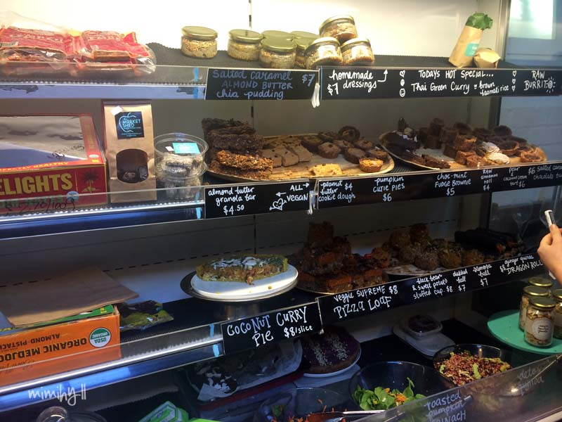 The Marketshed on Holland Bona Food Raw and Vegan Delights