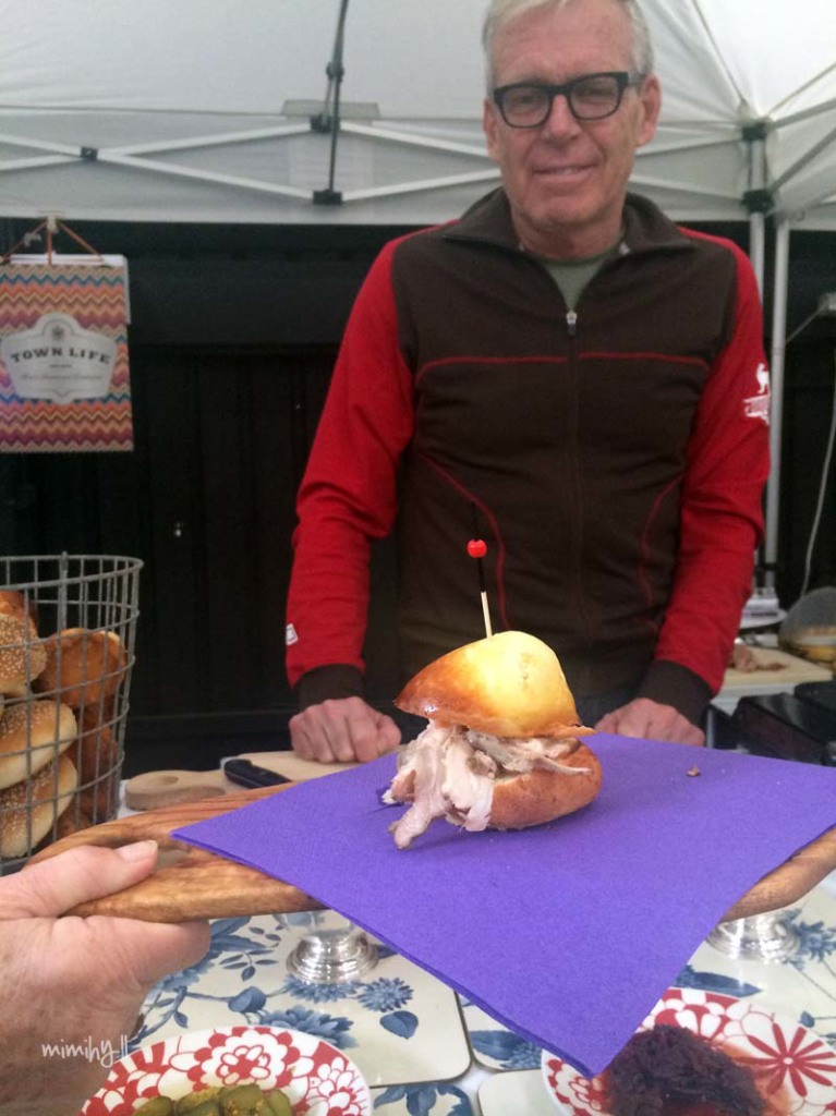 The Marketshed on Holland Townlife Stall, Tom TwoPenny's Pork Slider