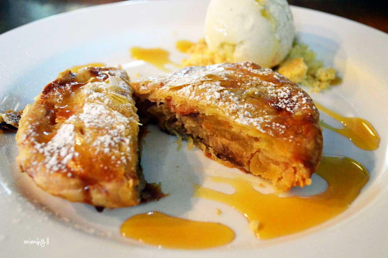 Chester Street Bakery and Bar Apple Pie