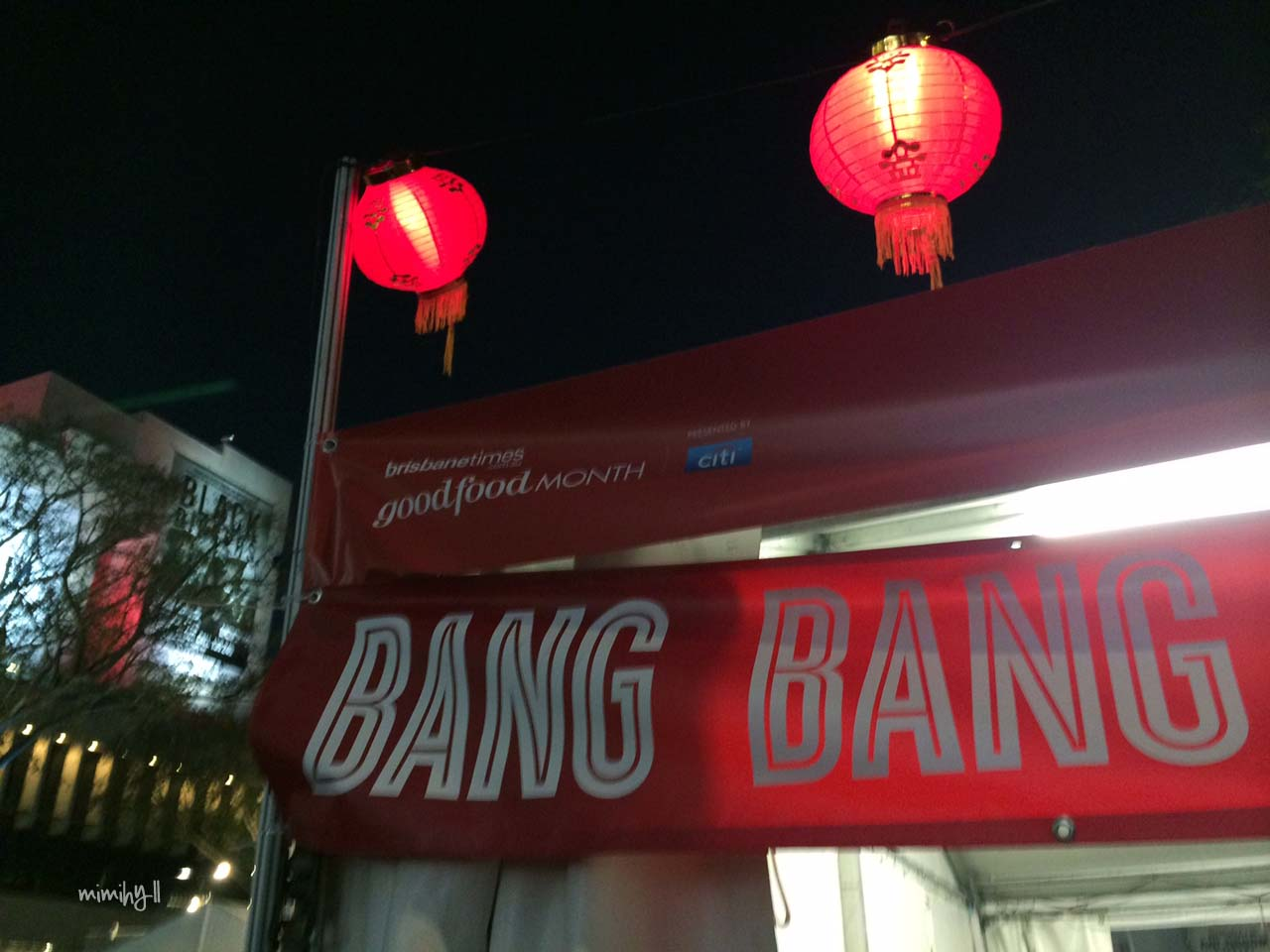 Bang Bang Pop Up at Night Noodle Markets
