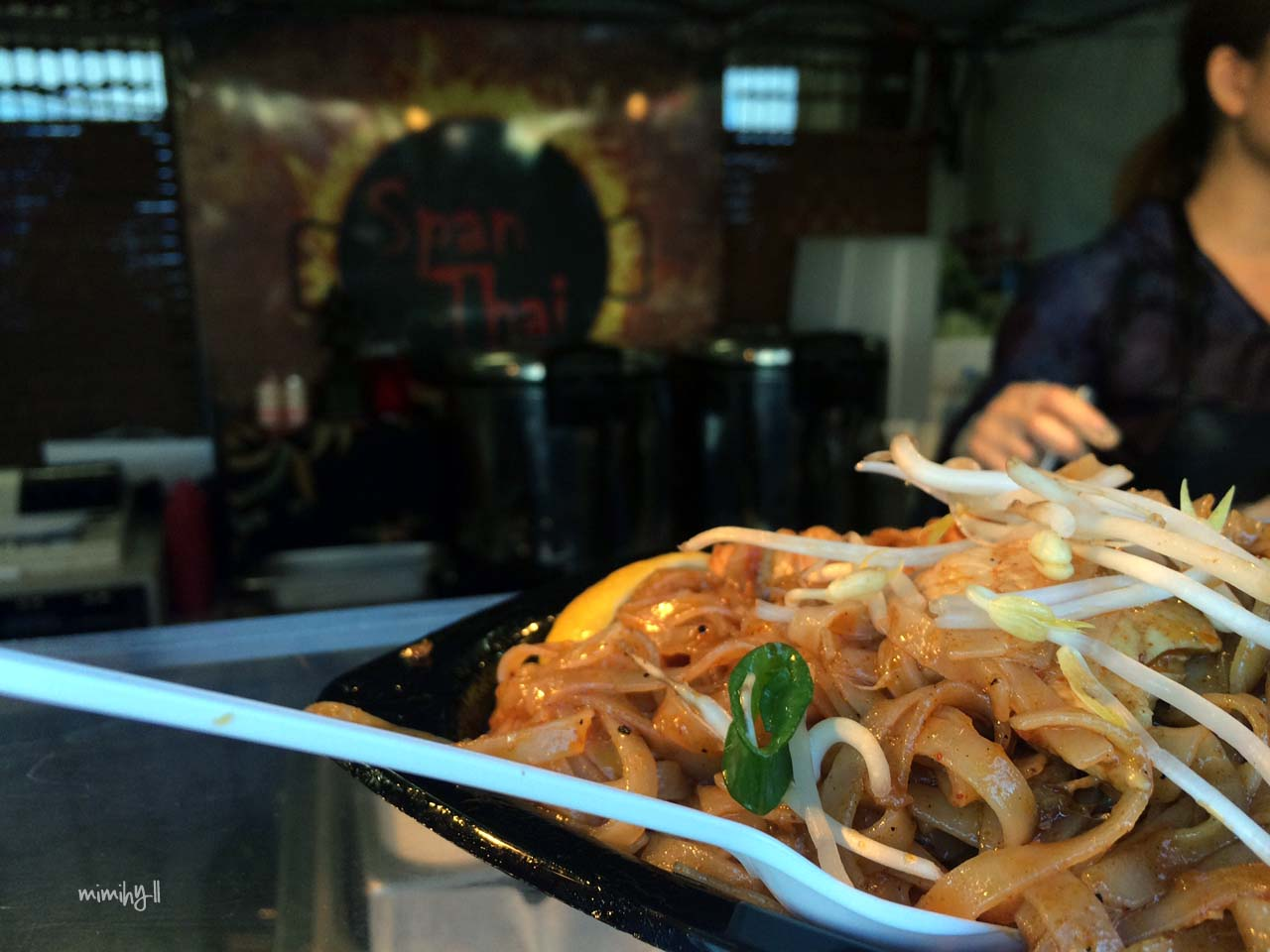 Chicken Pad Thai from SpanThai, Night Noodle Markets