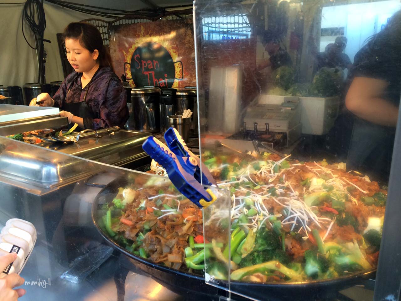 Span Thai Woks, Night Noodle Markets