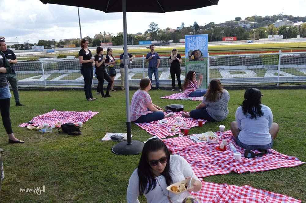 People and picnics at the Beer In Cider Launch Event