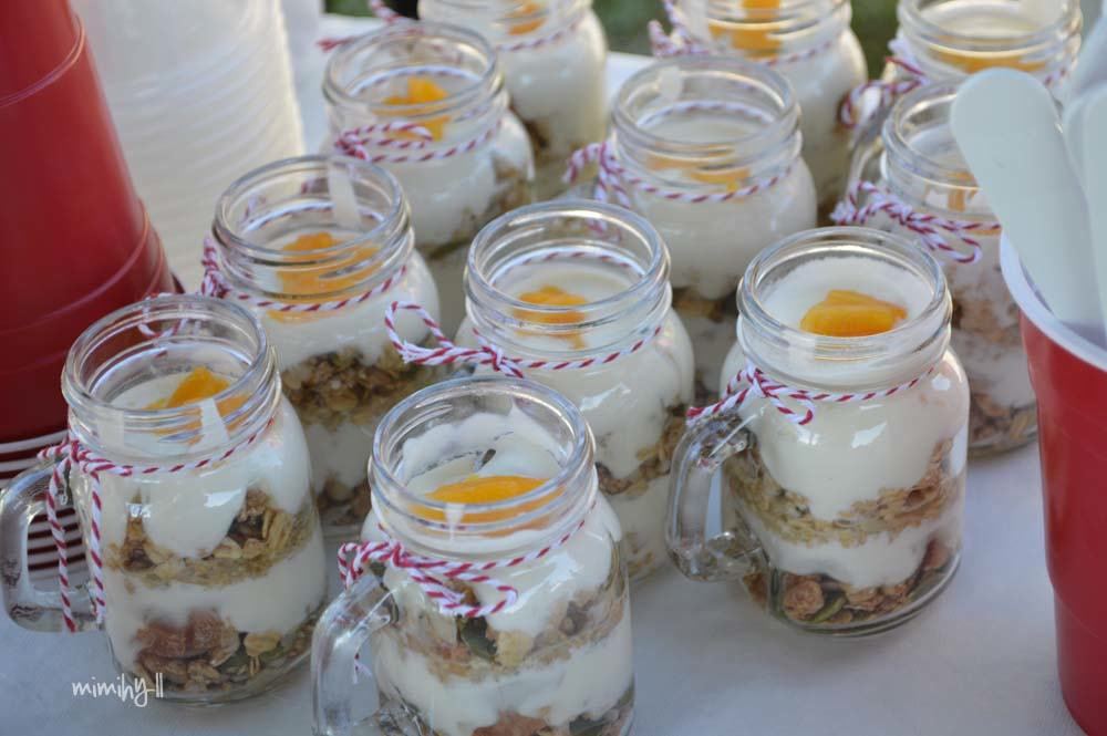 Muesli Pots at Beer In Cider Launch Event