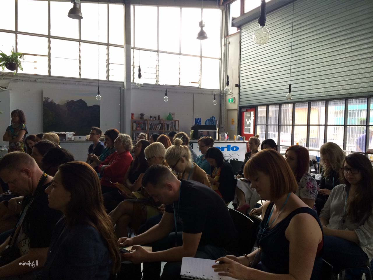 Eat Drink Blog 2014 - Bloggers Listening Attentively