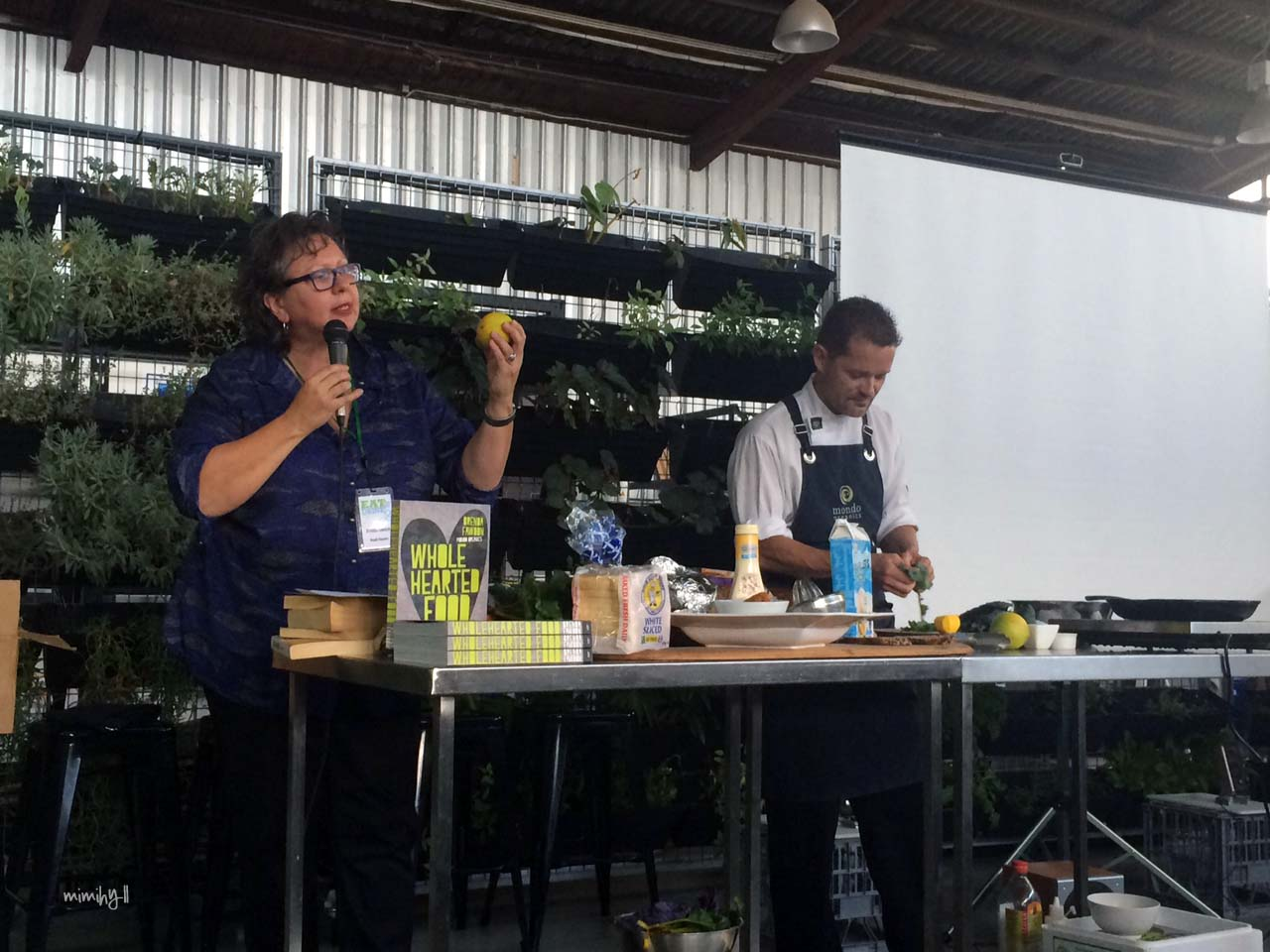 Eat Drink Blog 2014 Brenda Fawdon of Mondo Organics