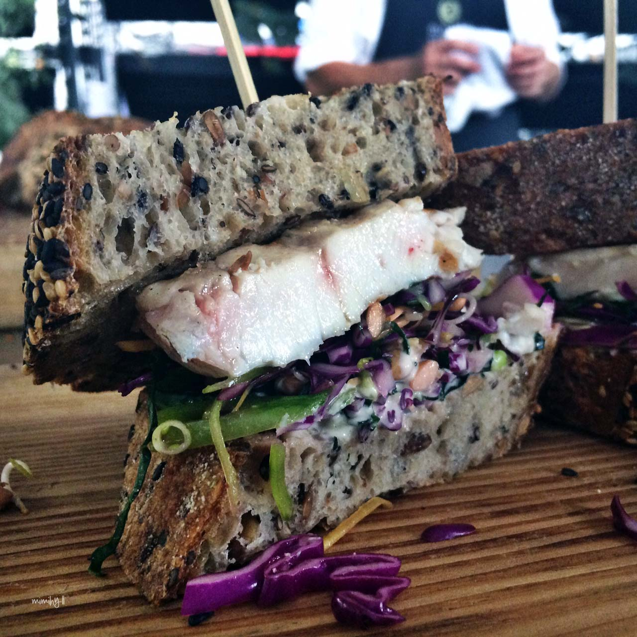 Eat Drink Blog 2014 - Mondo Organics, the sustainable fish sandwich