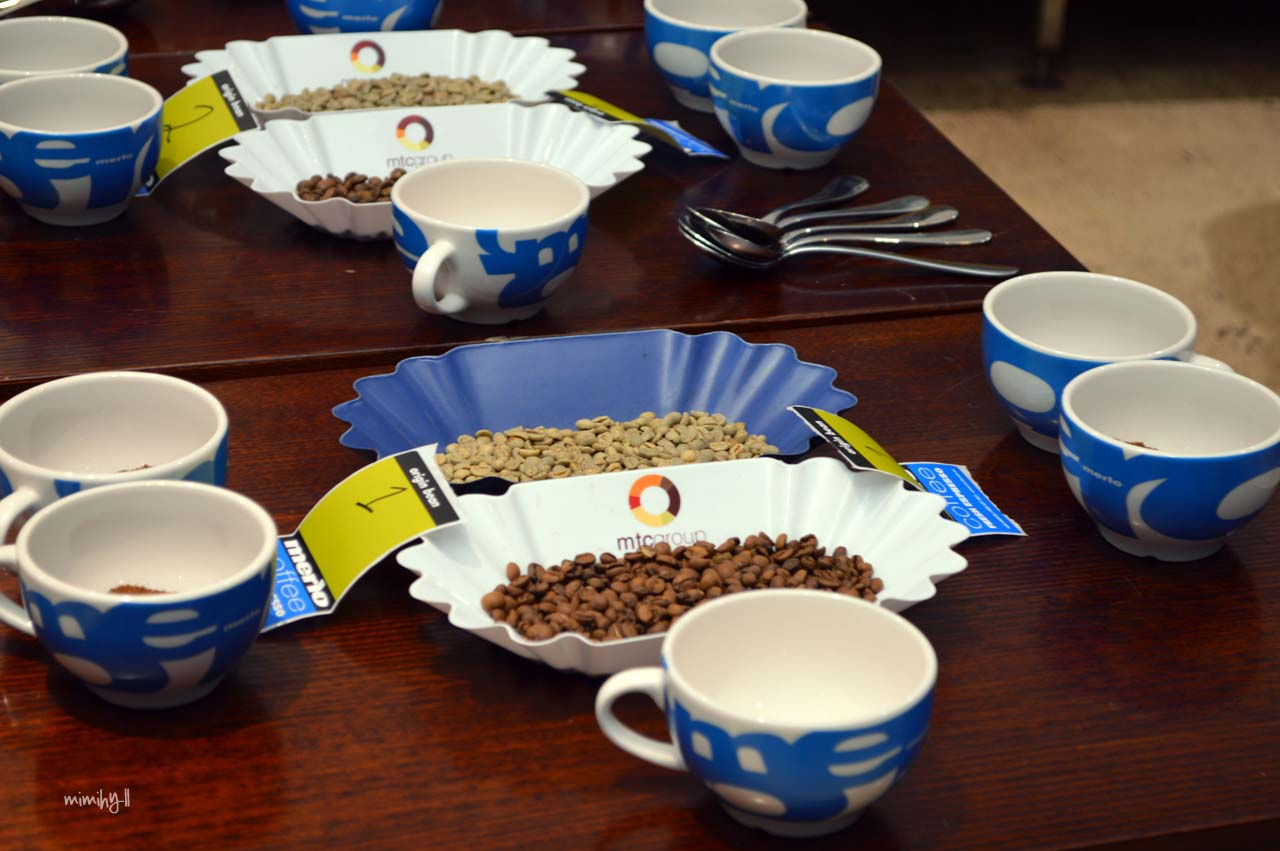 Eat Drink Blog 2014 - Merlo Cupping Session