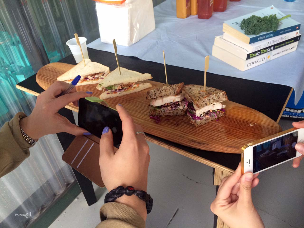 Eat Drink Blog 2014, Mondo Organics Tale of Two Sandwiches
