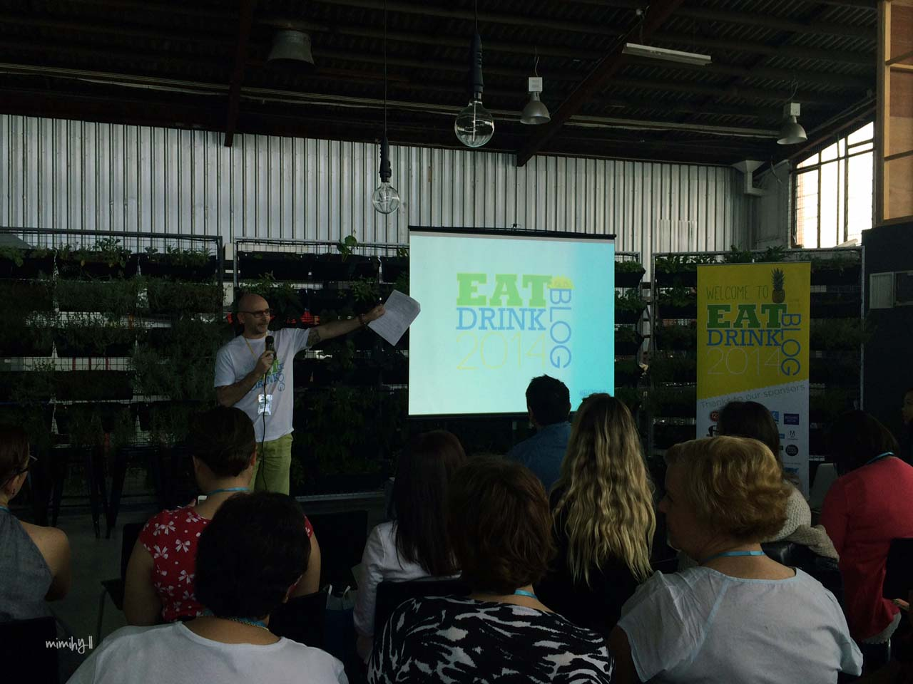 Eat Drink Blog 2014, Opening Address