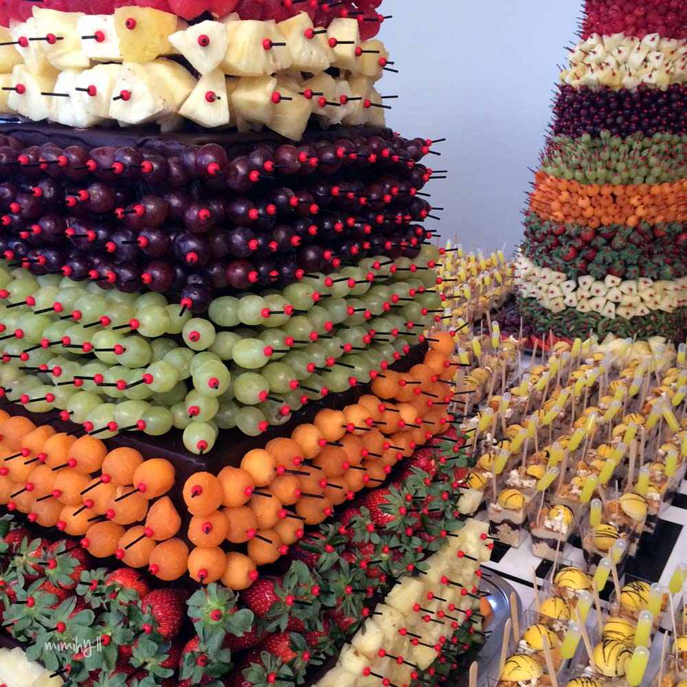 QT Fruit Tower at ProBlogger