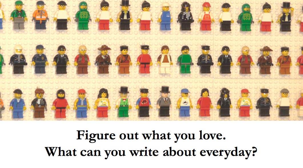 ProBlogger Tips - Write about what you love
