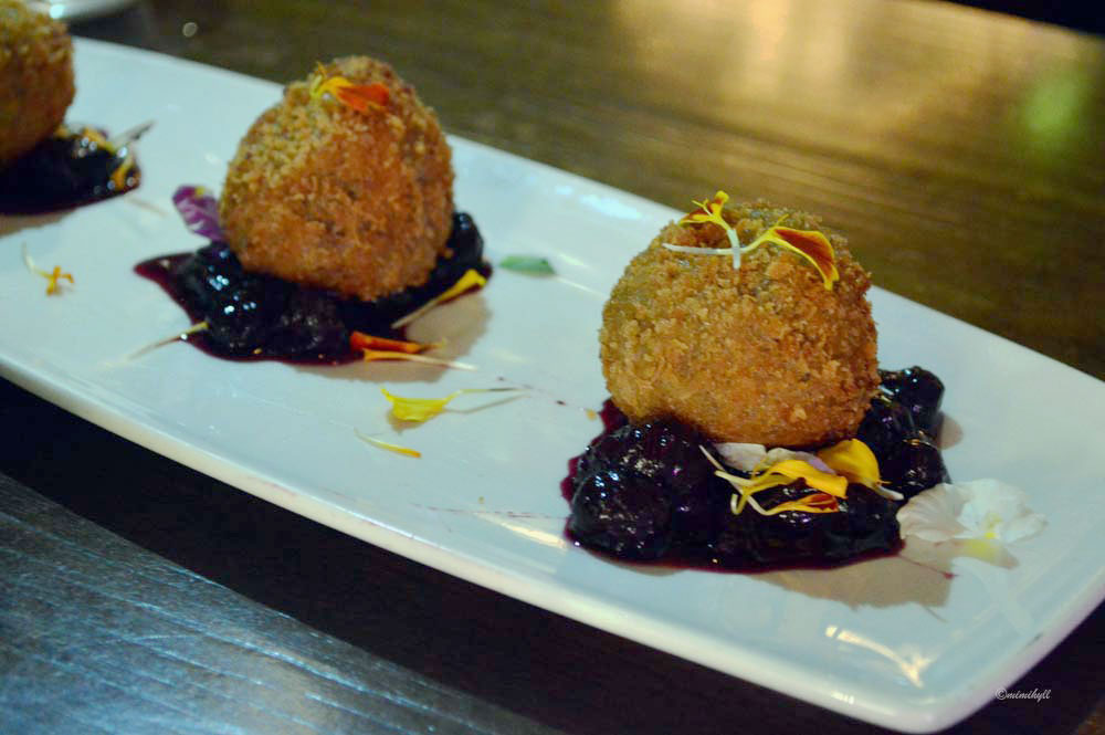 Bucci Brisbane Autumn Menu Arancini