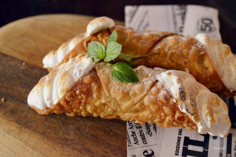 Bucci Brisbane Autumn Menu Cannoli