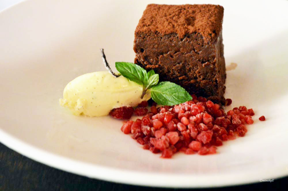 Bucci Brisbane Autumn Menu Chocolate Cake