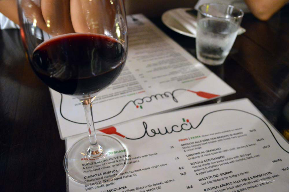 Bucci Brisbane Autumn Menu