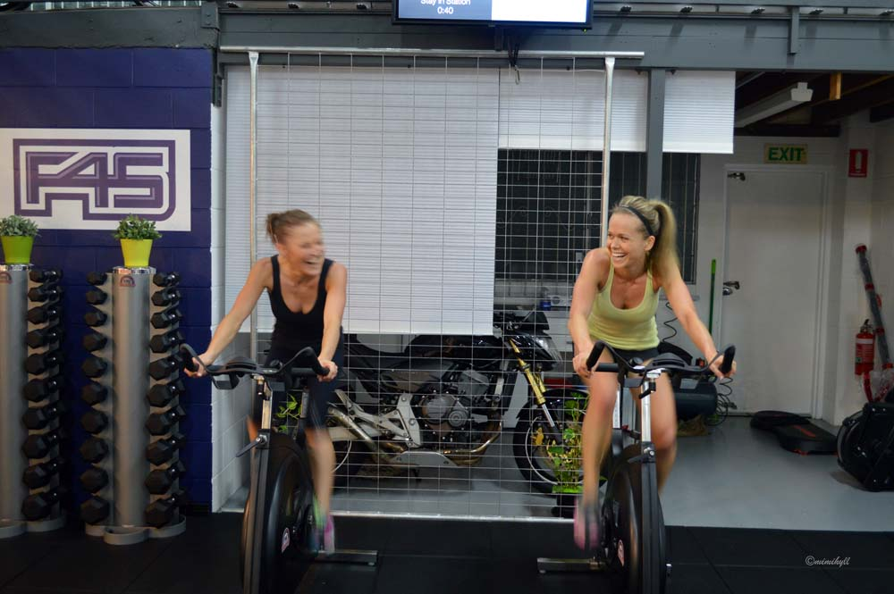 F45 Functional Training Newstead Cycle