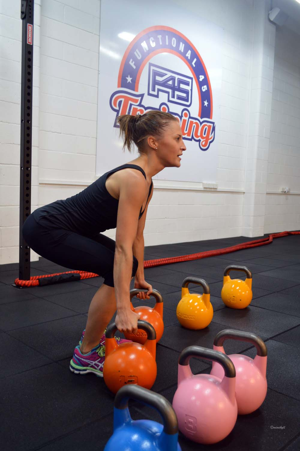 F45 Functional Training Newstead Kettlebells