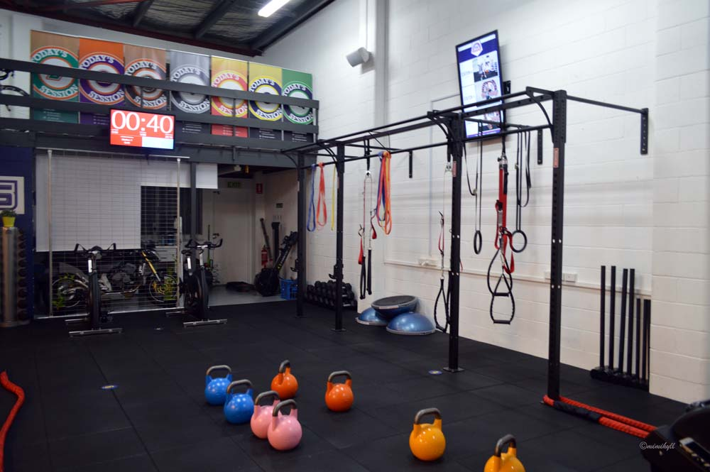F45 Functional Training Newstead circuit