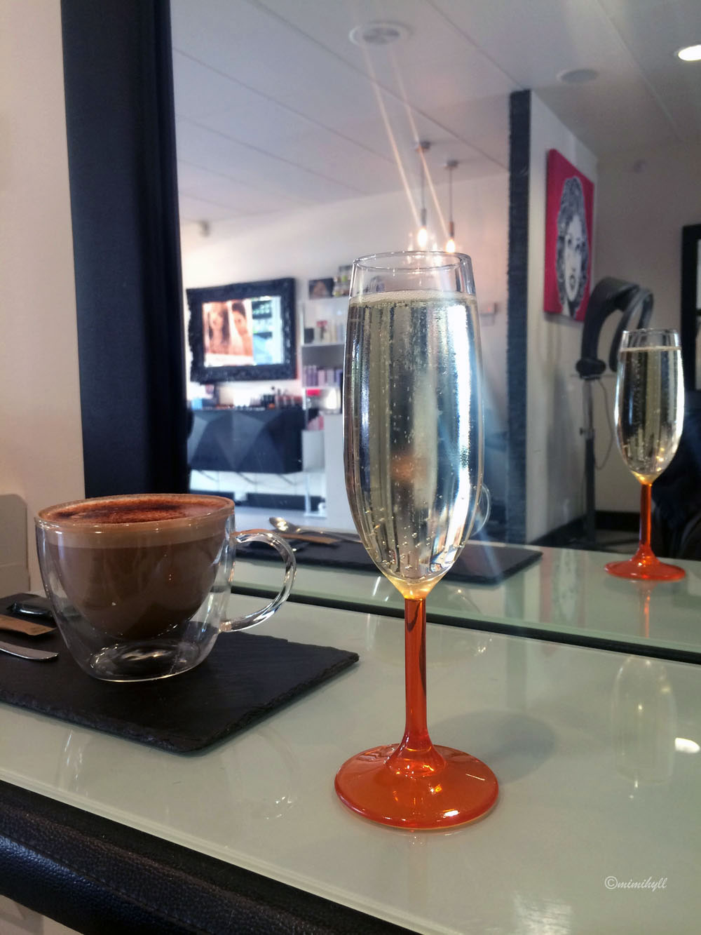 Arc Hairdressing & Wine Bar - Champagne & Cappuccinos