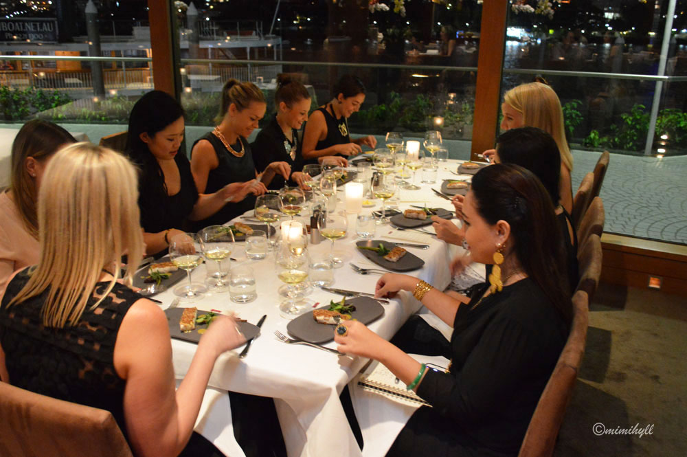ARIA Brisbane Blogger Dinner