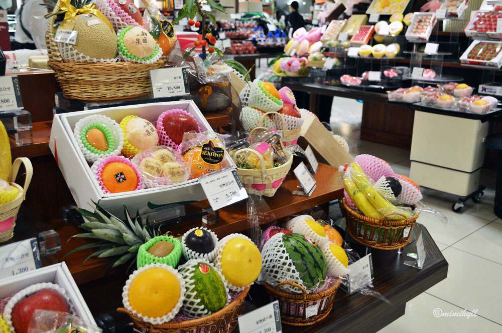 Daimaru Department Store Food Hall Fruit, Shinsaibashi-suji